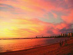 Beautiful Sunset. Punta del Este ~ Uruguay.