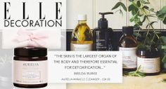 Imelda Burke, founder of our gorgeous retailer Content Beauty, describes the benefits of caring for your skin in ELLE Decoration x