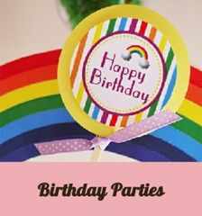 Party Ideas and Celebration Eye Candy  by Bird's Party
