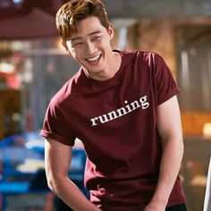 Park Seo Joon and his darn cute smile!