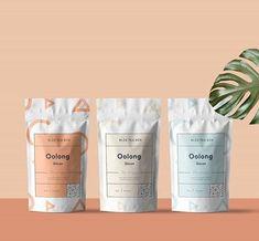 INSPIRATION: ART & DESIGN: FOOD & DRINK PACKAGING — CLAIRE HEFFER DESIGN Pouch Packaging, Cookie Packaging, Food Packaging Design, Beverage Packaging, Bottle Packaging, Brand Packaging, Tea Packing Design, Packaging Inspiration, Tea Brands