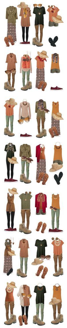 Safari: What to wear on a 4 week trip to Uganda, Kenia and Tanzania #traveloutfits #AfricaTravelPacking #AfricaTravelTanzania