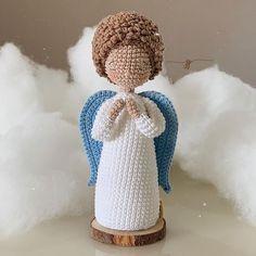 Santa Ornaments, Angry Birds, Communion, Snowman, Teddy Bear, Angel, Outdoor Decor, Instagram, Crochet Christmas Decorations