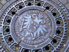 german man hole cover