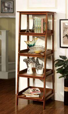 Furniture Of America 4-Tier Shelf Cm-Ac121 Jaegen Collection for $173