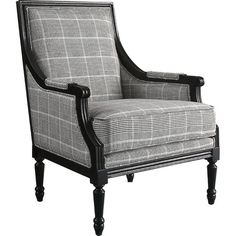 This sophisticated arm chair will have you sitting pretty no matter where you put it. It sets a stately tone in the entryway, where guests can slip off their...
