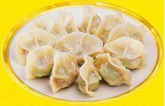 美味的多种素馅饺子 - 素食菜谱 - 智悲佛网