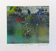 Intrigue du destin, 2015, tecnica mista, 10 x 9.5 cm