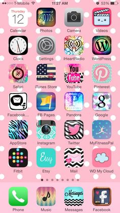 How to get cute icon designs on your iPhone… tutorial w/photos. Cute App, App Icon Design, Amazing Life Hacks, Photo Calendar, Editing Apps, Cute Icons, Editing Pictures, Homescreen, Disney