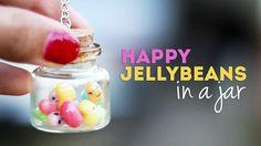 DIY ♥ Happy Jelly Beans in a Bottle