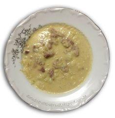 Sopa de Couve Flor com Costelinha Defumada