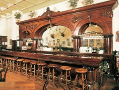 Western Bar - Customer Furnished Photo - America 1877 - on a smaller scale of course