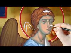 VIDEO: Cold encaustic in icon painting (Andrey Zharov, Belarus) Byzantine Icons, Orthodox Icons, Painting Videos, Tempera, Michel, Ikon, Museum, Youtube, Fictional Characters
