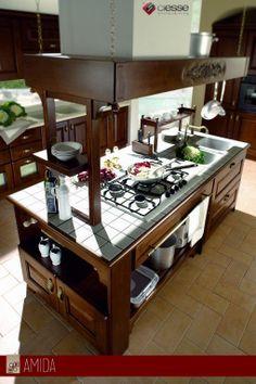 Progetta da noi la tua cucina in muratura, ti aiutiamo dall'idea alla realizzazione: scegli le ante, le mattonelle, gli elettrodomestici e al resto pensiamo noi! Vieni a scoprire la tua cucina chiavi in mano!