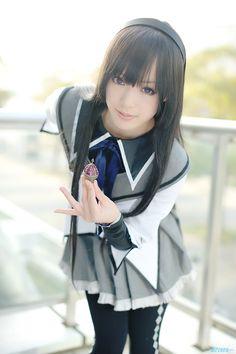 cosplayer - Kipi - Homura Akemi