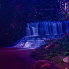 Magical mystical waterfalls