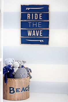 Ride the Wave Wall A