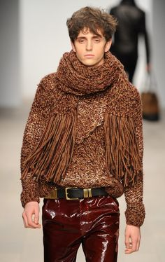 """wgsn: """" Some great knitwear looks from James Long on menswear day at #lfw today """""""