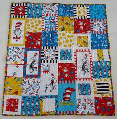 Dr. Suess quilt for the boys
