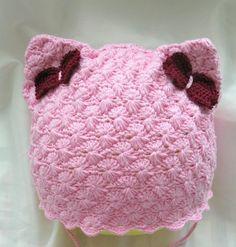 Как связать шапку на осень для девочки крючком?