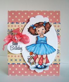 Alice Wertz: Alice's {Little} Wonderland – Happy Birthday Jenny! - 8/4/11, (Pin#1: Mo Manning. Pin+: Coloring Layouts).