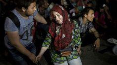 La crisis migratoria desde Siria se agravó en los últimos días debido al avance de Estado Islámico.