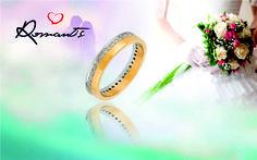 Escolha o símbolo perfeito para a mais bela história de amor: a sua! // Elija el símbolo perfecto para la historia de amor más hermosa: la tuya !  ALR 4555A   #romantis #romantisjewelry #aliança #amor #love #historiadeamor