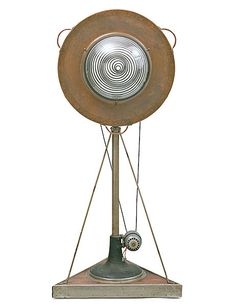 Rotative Demisphère, a motorized Duchamp sculpture commissioned by Doucet in 1924 and now owned by New York's Museum of Modern Art. Art Sculpture, Modern Sculpture, Sculptures, Jean Tinguely, Architectural Digest, Picasso Paintings, Kinetic Art, Fashion Designer, Global Design