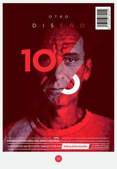 Artwork for OD Magazine in Typography & Graphic Design