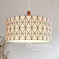 【楽天市場】ペンダントライト【Orrefors/アイボリー】2灯 ファブリック スチール 北欧 LED おしゃれ 照明 ダイニング 洋室 リビング シンプル カフェ:デザイン照明のCROIX