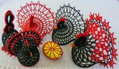 Holiday Crafts, Holiday Decor, Ganesha Art, Crochet Birds, Beach Cottage Style, Crochet Stitches, Crochet Earrings, Goodies, Christmas Ornaments