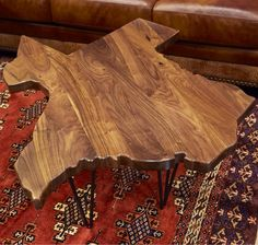 Nothing says, WE ARE TEXAS like this ornate cocktail table that is handcrafted here in the USA. This beauty is made of solid wood and has a beautiful finish. These won't last long so give our furniture expert, Roy Ortega a call and place your order, TODAY! 281-888-8011   Houston TX   Gallery Furniture  