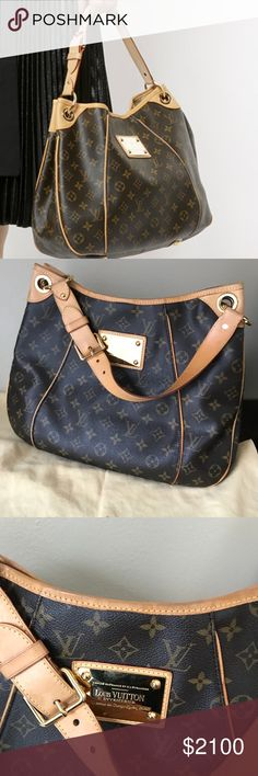 NFS❗️Louis Vuitton galliera PM SHARING..One of my all time favorite bags for everyday use. Louis Vuitton Bags Shoulder Bags