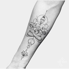 If you're planning to get a Buddha tattoo design, you've come to the best place. We have the best & most beautiful Buddha tattoos for inspiration. Sexy Tattoos, Model Tattoos, Yoga Tattoos, Badass Tattoos, Body Art Tattoos, Tattoos For Women, Space Tattoos, Tatoos, Awesome Tattoos