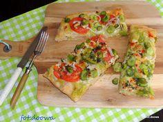 Moje Małe Czarowanie: Pizza ze skordalią i bobem