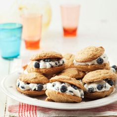 blueberry-spice whoopie pies