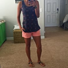 Loveappella Ernest Swing Tank...Love this Stitch Fix top for summer! Want to try Stitch Fix? Sign up here....https://www.stitchfix.com/referral/5198264