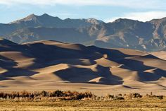Visit the Great Sand Dunes National Park to see some stunning Colorado scenery - http://thebesttravelplaces.com/great-sand-dunes-national-park/
