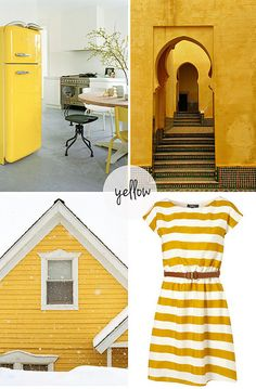 #Amarillo sunny yellow by the style files, via Flickr