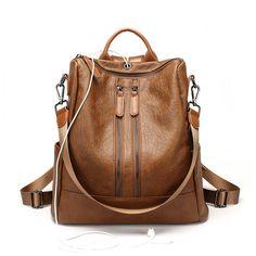 ca8ec3d682 ALNEED Fashion Women Backpack High Quality PU Leather Backpacks for Teenage  Girls Female School Shoulder Bag Backpack Mochila(China)