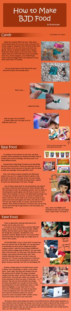 How to Make BJD Food by RodianAngel.deviantart.com on @deviantART