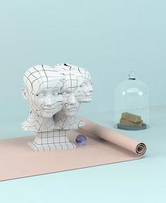 Los geniales bodegones 3D creados por Anny Wang.               — ANNY WANG