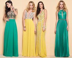 vestido de longo bordado 2015