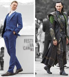 Tom & Loki. Both so insanely dapper.