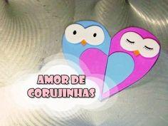 DIY.: Amor de Corujinhas #diy #doityourself #manualidades #tutorial #comofaz #comofazer #ideias #ideiascriativas #criatividade #ideiasfeitasamão #art #arte #artesanato #craft #gomaeva #molde #coração #heart #coruja #corujas #corujinhas #corujando #owl #cute #fofo #casal #casalzinho #lembrancinha #lembrancinhas #personalizados #youtube #youtubechannel #canaltadearte
