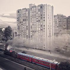 """Tren de la Sabana @socialmediaweek @smwbog @igerscolombia #instagramyourcity for #bogotá #iphoneography"" by @shebiuti"