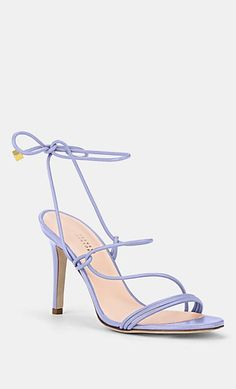 Barneys New York Fancy Shoes, Cute Shoes, Me Too Shoes, Lace Up Heels, Shoes Heels, Bright Heels, Street Style Shoes, Beautiful Sandals, Designer Shoes
