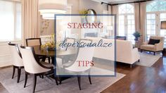 Before you put your home on the market be sure to remove personal photographs and pack up family heirlooms. You want buyers to imagine their own photos on display, and they can't do that if yours are there. Try to replace the photos with appealing artwork or décor. Don't forget to remove your papers and pictures from the refrigerator as well. #stagingtips #dallasrealestate
