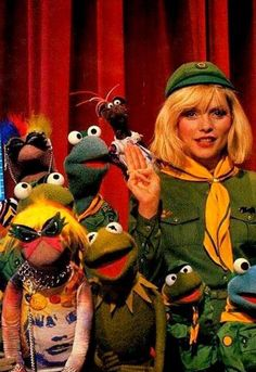 Debbie Harry and the Muppets