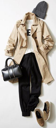 今週はルミネ北千住から、トレンドのパンツを活かしたスタイルをご紹介! トレンチ&パンツのこなれた着こなしは? 人気スタイリスト山崎ジュンさんが「すぐマネできる」テクニックをお伝えします。